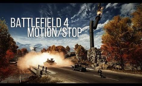 Battlefield 4 - ciekawy filmik typu Motion/Stop