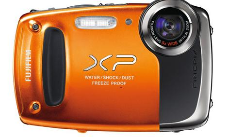 FUJI FinePix XP50 - wodoodporny i praktyczny aparat