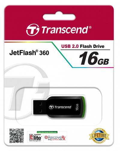 Transcend JETFLASH 360 16GB USB2.0 BLACK