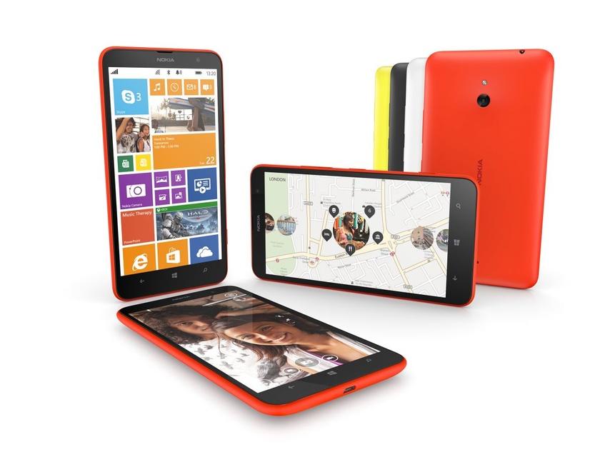 Nokia Lumia 1320 - nowy przystępny cenowo smartfon z wieloma zaletami