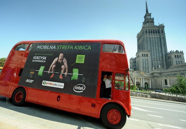Mobilna Strefa Kibica w trakcie trwania Igrzysk Olimpijskich
