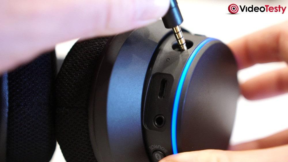 Creatvie SXFI AIR - przełączniki i mikrofon NanoBoom