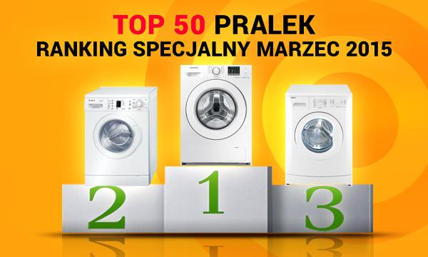 TOP 50 Pralek Marzec 2015