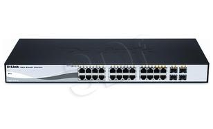 D-LINK DGS-1210-24 24 port 10/100/1000 4xCombo(WYP)