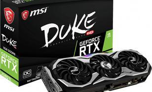 MSI RTX 2080 Ti DUKE OCV1 11GB GDDR6 (GeForce RTX 2080 Ti DUKE 11G
