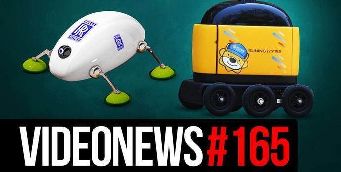 Google Płaci UE, Prawdziwy Jet Pack, Robo Owady –VideoNews#165