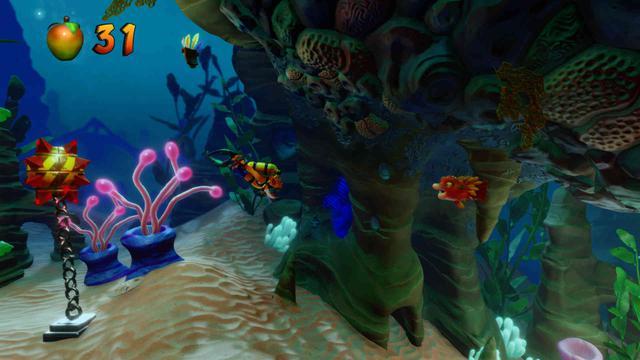 Crash Bandicoot N. Sane Trilogy - Podwodne poziomy wciąż są przepiękne!