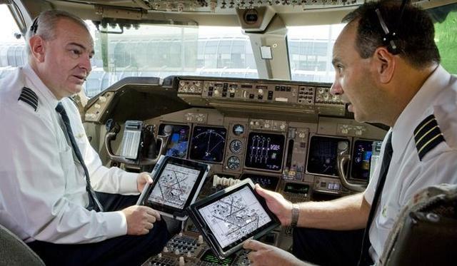 iPady Opóźniły Kilkadziesiąt Lotów