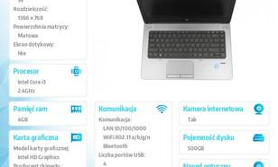 HP 640 i3-4000 W7/8P 500/4GB/DVRW/14 H5G64EA