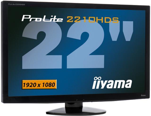 iiyama E2210HDS, czyli 22 calowy Eco monitor