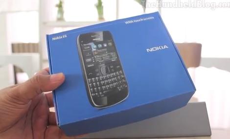 Nokia E6 test telefonu