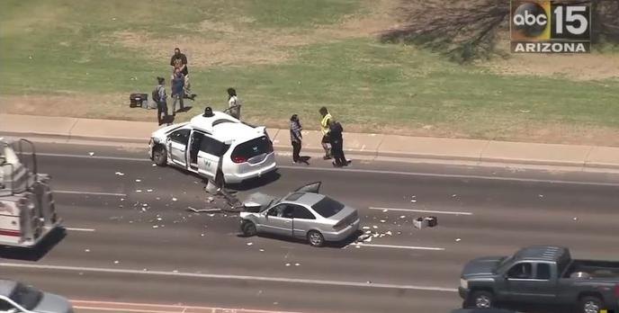 Kolejny wypadek autonomicznego samochodu - Tym razem od Google