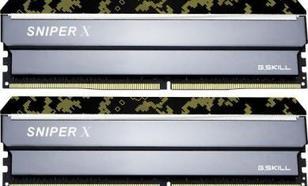 G.Skill Sniper X DDR4, 4x16GB, 3200MHz, CL16 (F4-3200C16Q-64GSXKB)
