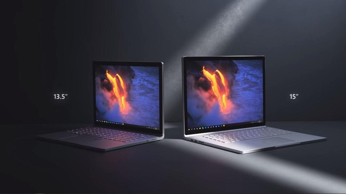 Surface Book 3 w dwóch rozmiarach
