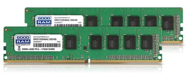 GoodRam DDR4 o taktowaniu 2133 MHz