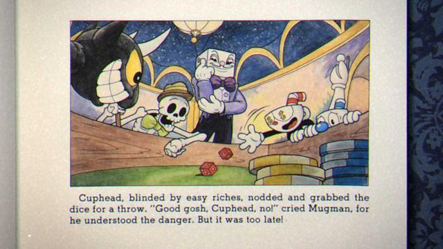 Cuphead - Przygoda w kasynie źle się kończy