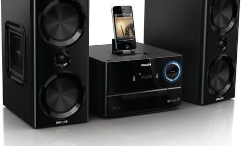 Philips DCM3020  - popularna miniwieża o efektownym wyglądzie