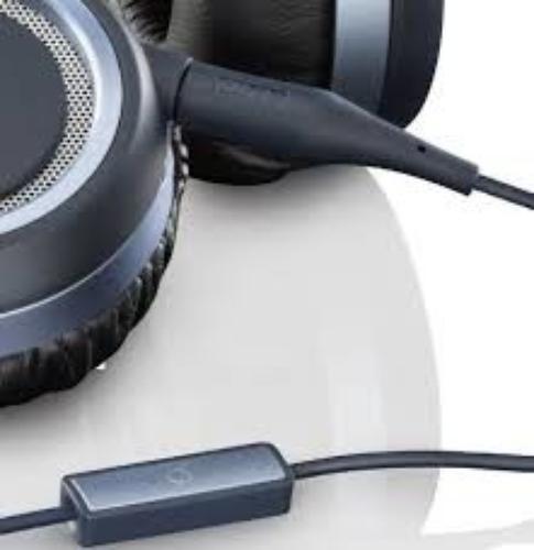 AKG K452 Niebieskie Słuchawki z mikrofonem