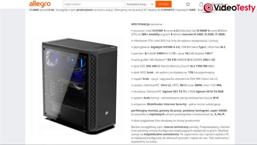 Dobry komputer za 2000 zł