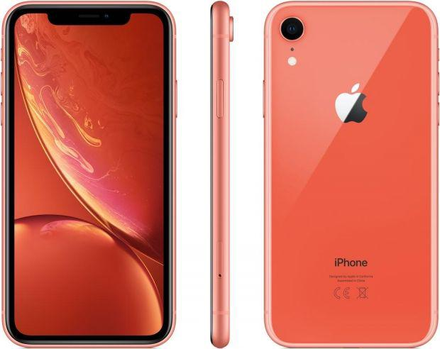 Apple iPhone XR 128GB Koralowy (MRYG2PM-A)