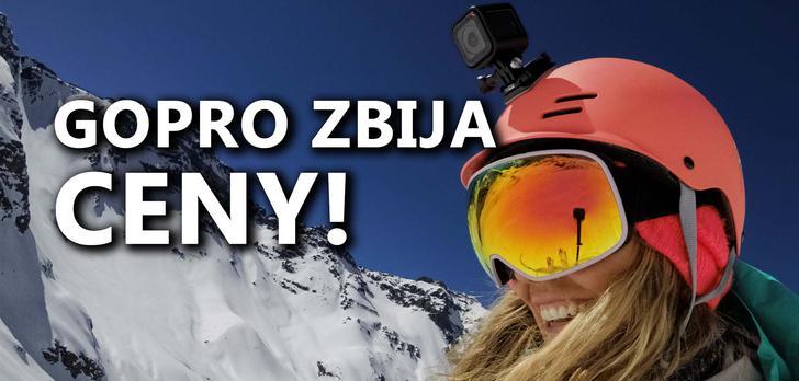 Kamery GoPro HERO5 w Świątecznie Niskich Cenach