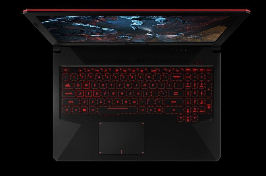 ASUS TUF Gaming FX504GM klawiatura