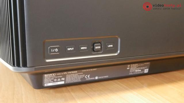 VPL-VW760_buttons