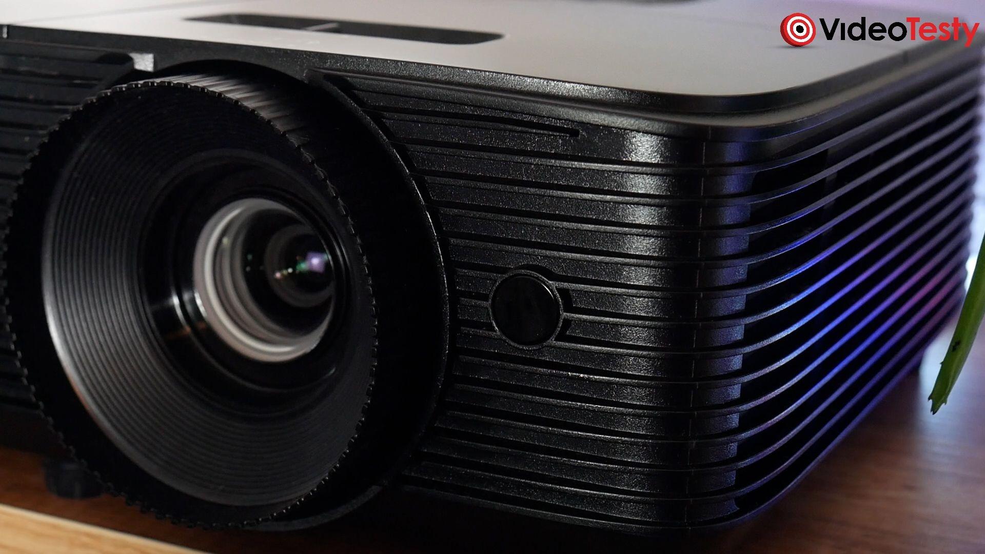 Optoma HD28e obiektyw wyświetlający duży obraz