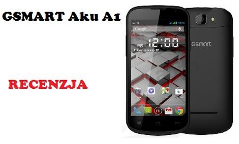 GSmart Aku A1 - Smartfon Gigabyte`a
