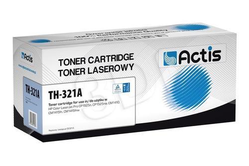 Actis TH-321A cyan toner do drukarki laserowej HP (zamiennik 128A CE321A) Standard