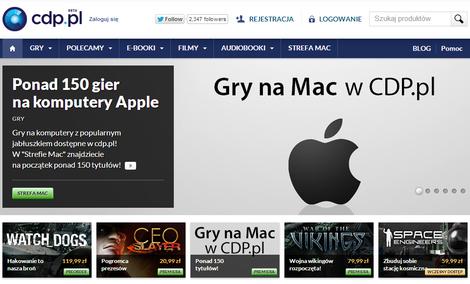 Teraz w ofercie CDP.PL znajdziecie także gry na Apple