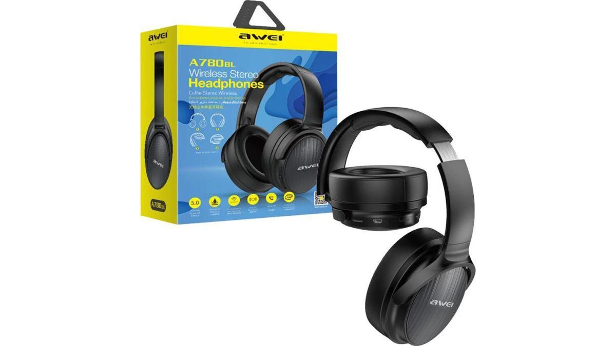 Awei A780BL to jedyne słuchawki w zestawieniu oparte o Bluetooth