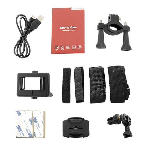 Qoltec Wodoodporna kamera sport 1.5 cala | HD
