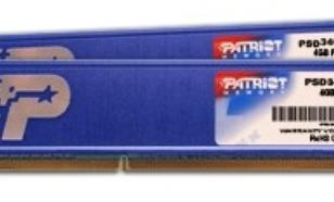 Patriot DDR3 8GB (2x4GB) KH 1333MHz CL9