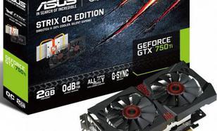Asus GeForce GTX 750Ti STRIX OC 2GB GDDR5 (128 bit) HDMI, DP, DVI-I, BOX (STRIX-GTX750TI-OC-2GD5)Wydajna karta graficzna ASUSGeForce®GTX750 Ti OCWydajna karta graficzna ASUSGeForce®GTX750 Ti OC