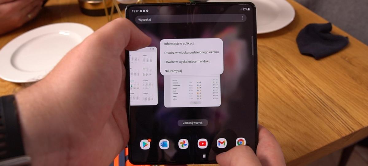 Samsung Galaxy Z Fold 3 i One UI