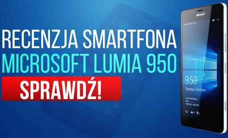 Recenzja Smartfona Microsoft Lumia 950