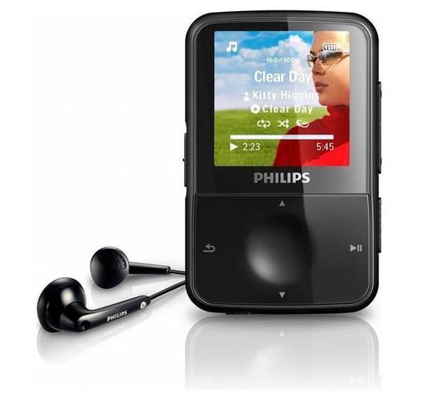 Philips GoGear Vibe - funkcjonalny odtwarzacz muzyczny