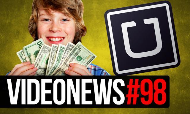 Uber Pozwany, Problemy G2A I 11 Latek Wydał 30 Tysięcy Złotych - VideoNews #98