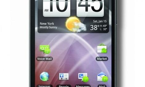 HTC ThunderBolt - prezentacja smartfonu