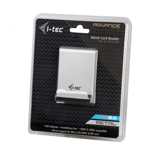 Dicota i-tec USB 3.0 All-in-One Zewnętrzny czytnik kart pamięci, 5 portów