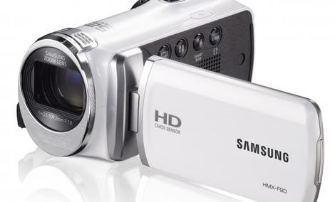 Majówka z rodzinną kamerą Samsung HMX-F90