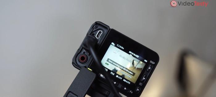 Sony RX0-II ma ograniczoną liczbę portów