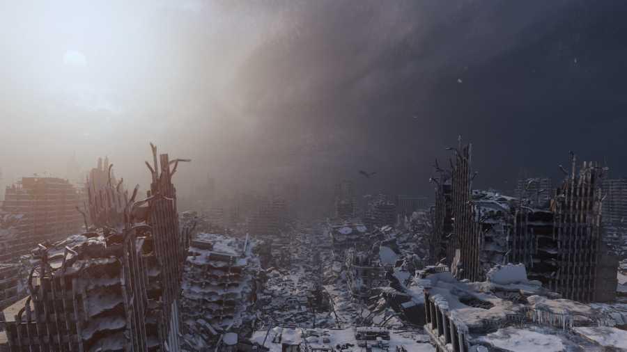 Metro Exodus - Z drugiej strony mroźne miasto