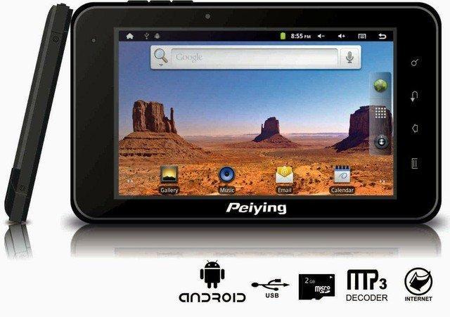 Peiying GPS 7006 - nawigacja GPS z systemem Google Android