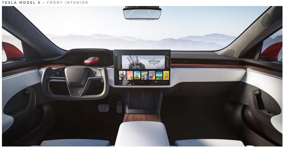 Tesla Model S odpali wymagające gry