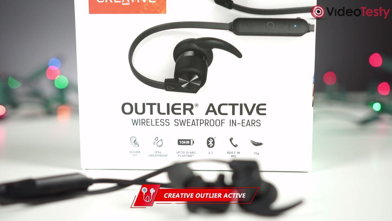 Creative Outlier Active są kompatkowe i sportowe jednocześnie