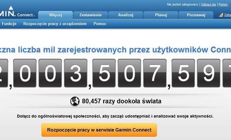Garmin Connect - dwa miliardy powodów do aktywnego świętowania