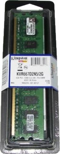 Kingston DDR2 2GB/667 CL5