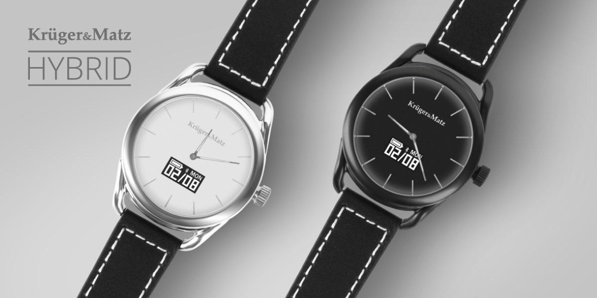 Dwa zegarki Kruger&Matz Hybrid